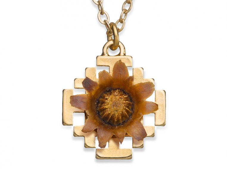 Reblooming Flower Necklace by The Blessing Flower - 11