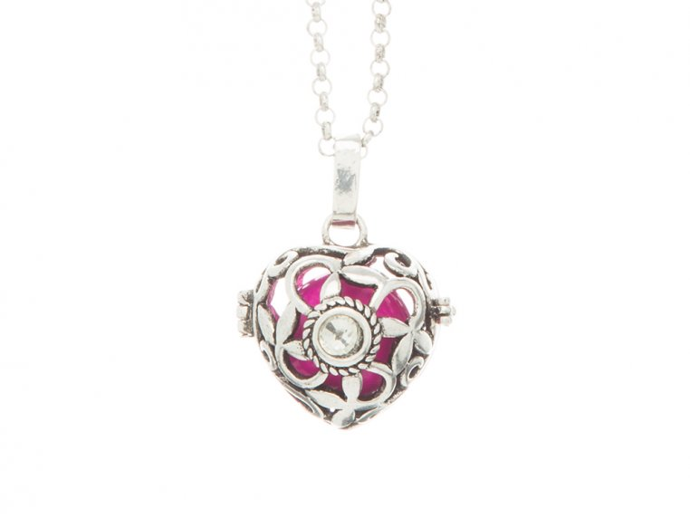 Heart Crystal Angel Locket by Yourself Expression - 7