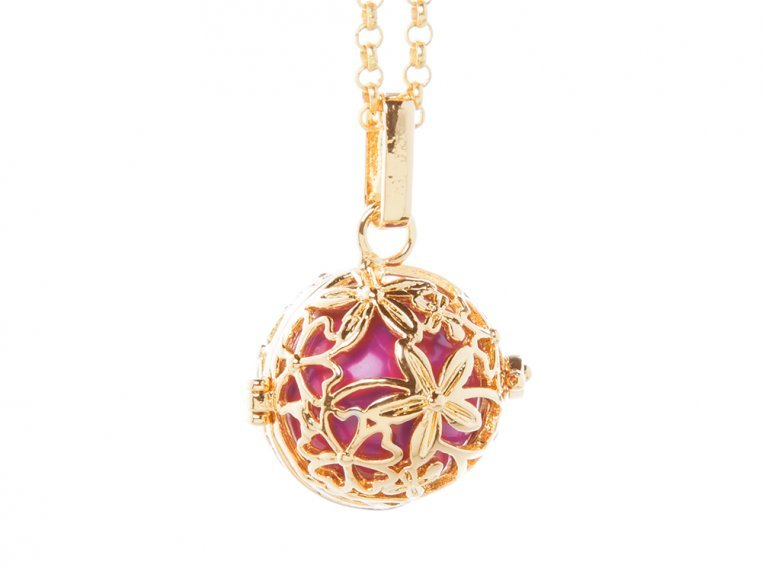 Hibiscus Angel Locket by Yourself Expression - 5