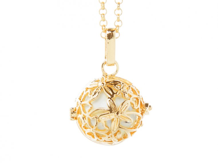 Hibiscus Angel Locket by Yourself Expression - 6