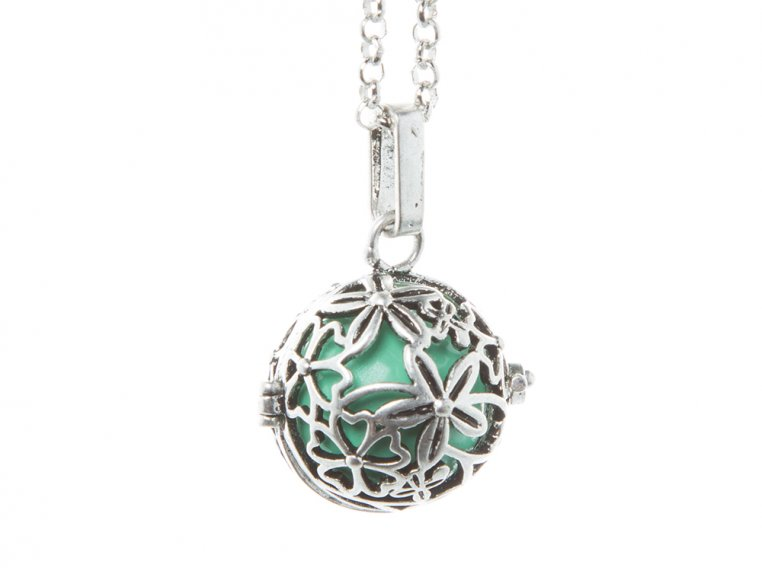 Hibiscus Angel Locket by Yourself Expression - 14