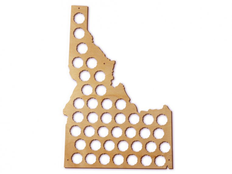 Choose Your State Beer Cap Trap by Torched Products - 19