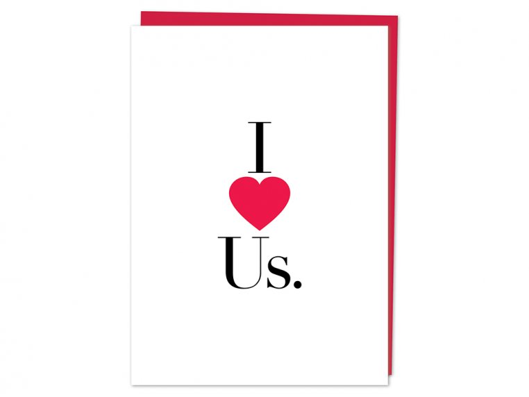 I (Heart) Us Greeting Card by Design With Heart - 3