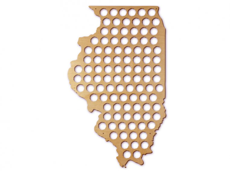 Choose Your State Beer Cap Trap by Torched Products - 20