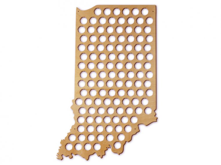 Choose Your State Beer Cap Trap by Torched Products - 21