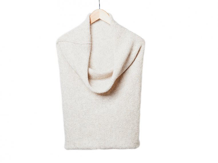 Cosmo Capelet - Cream/Oatmeal by Isobel & Cleo - 5