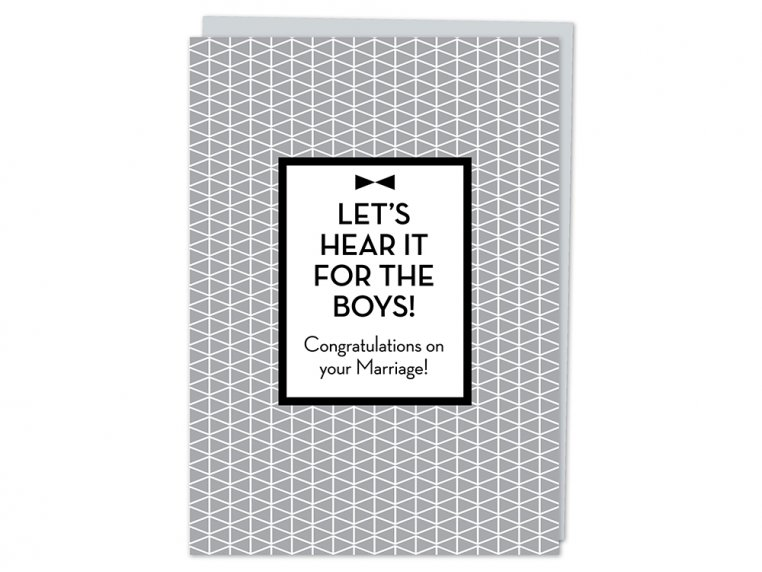 """""""Let's Hear It"""" Greeting Card by Design With Heart - 4"""