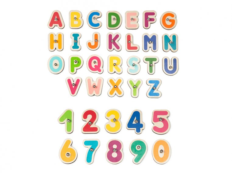 Smart Numbers + Letters Learning Toy by Marbotic - 8