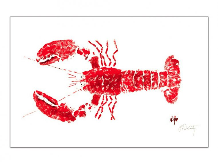 Fish-Rubbing Placemats - Set of 4 by Fish Aye Trading - 10