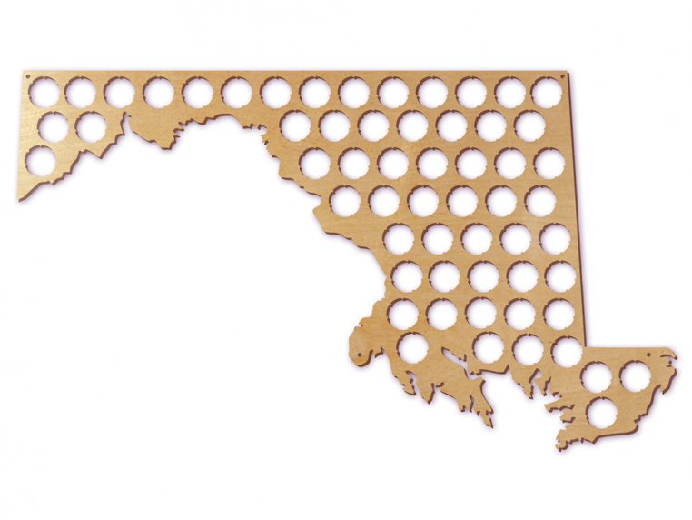 Choose Your State Beer Cap Trap by Torched Products - 26
