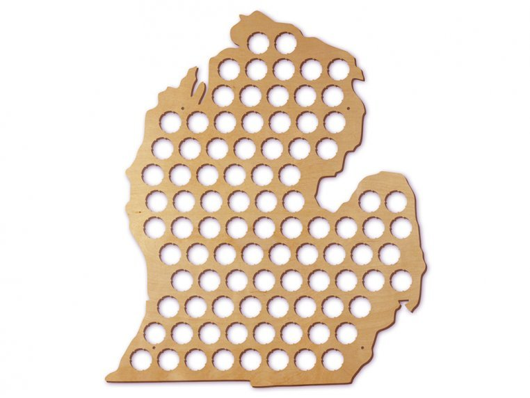 Choose Your State Beer Cap Trap by Torched Products - 28