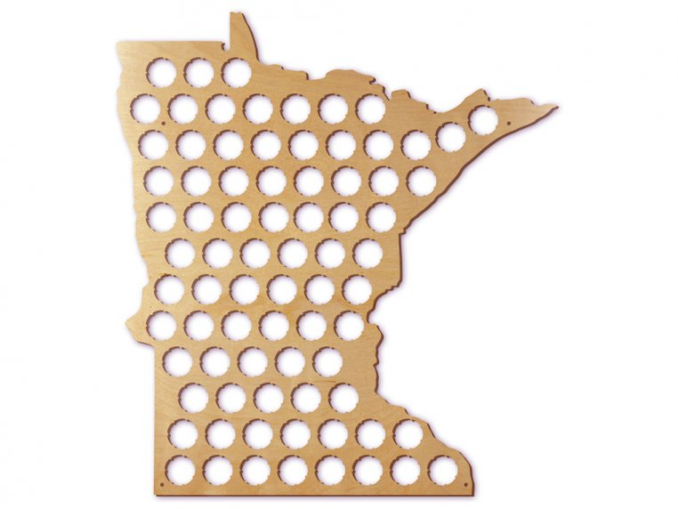Choose Your State Beer Cap Trap by Torched Products - 29