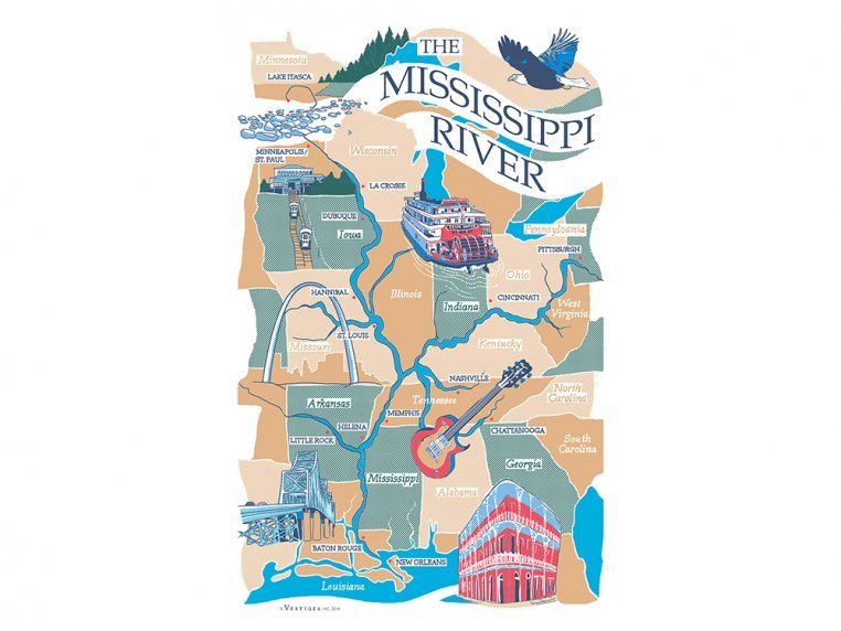 Destinations Tea Towels by Vestiges - 14