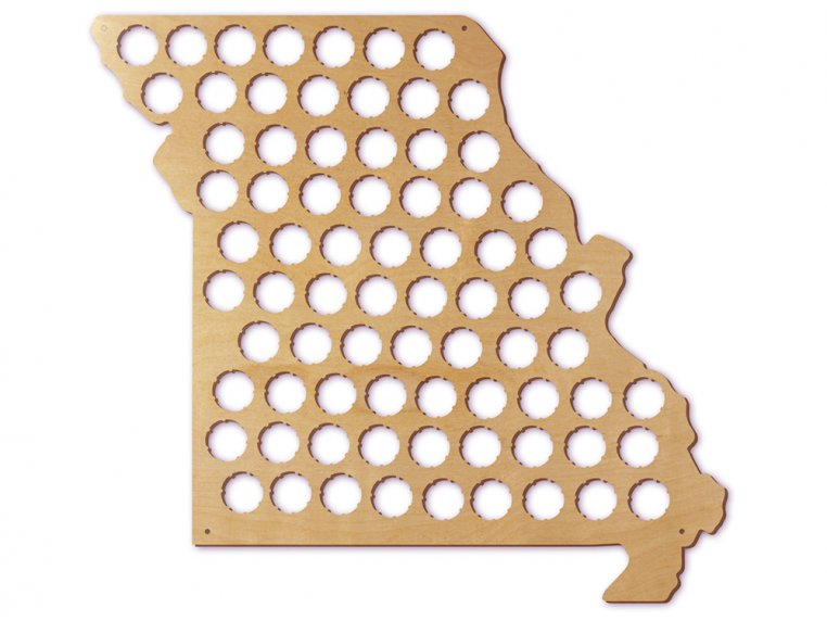 Choose Your State Beer Cap Trap by Torched Products - 30
