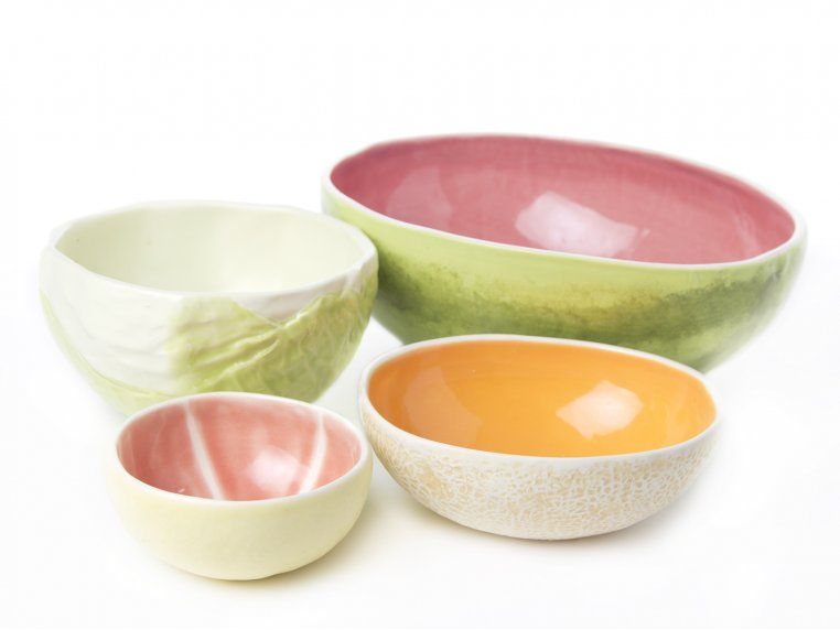 Complete Set of 4 Bowls by Vegetabowls - 1