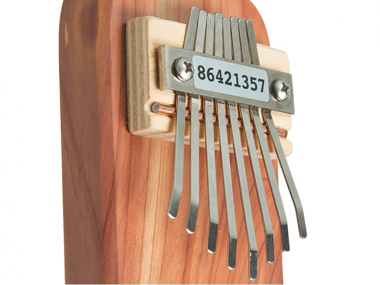 Cedar Board Kalimba by Mountain Melodies - 1