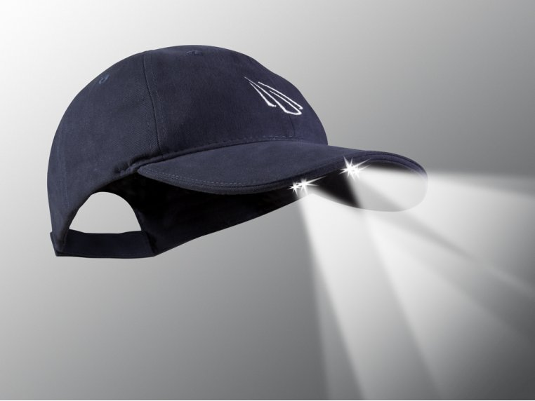 LED Lighted Hats by PowerCap - 1