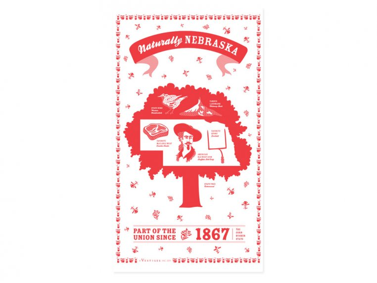 State Tea Towels by Vestiges - 28