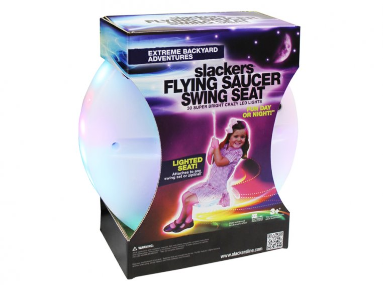 Zipline LED Flying Saucer Seat by Slackers - 1
