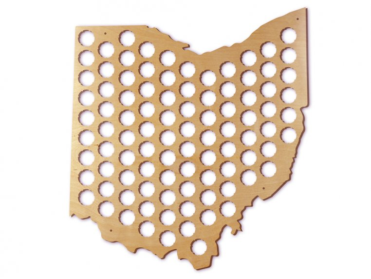 Choose Your State Beer Cap Trap by Torched Products - 40