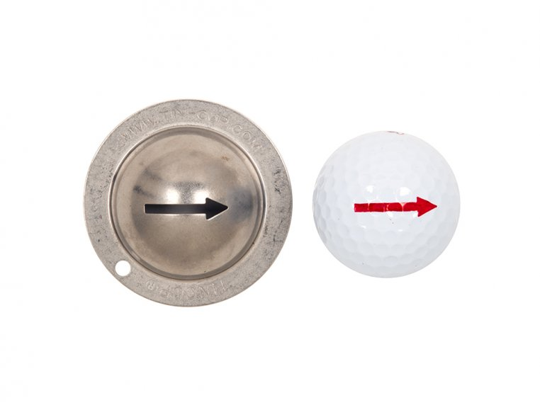 Stainless Steel Golf Ball Marker by Tin Cup - 10
