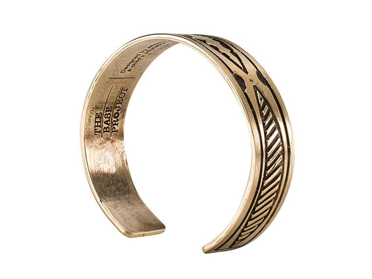 Oryx Brass Bracelet by The Base Project - 4
