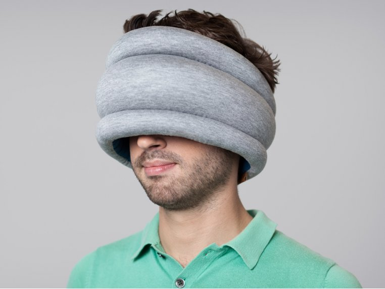 Power Nap Pillow - Light by Ostrich Pillow - 4