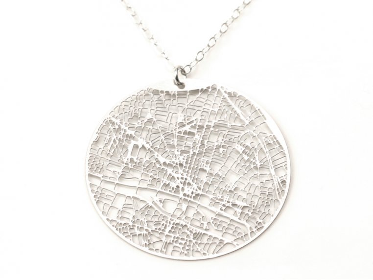 Urban Gridded Jewelry by Aminimal Studio - 3