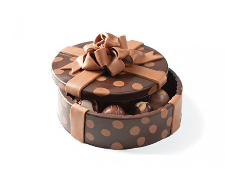 Chocolate Art Box (Truffle-Filled) by DeBrand Chocolates - 6