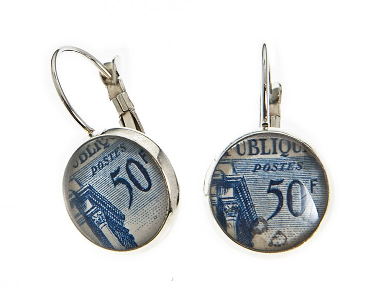 Authentic Stamp Earrings by Postali - 3
