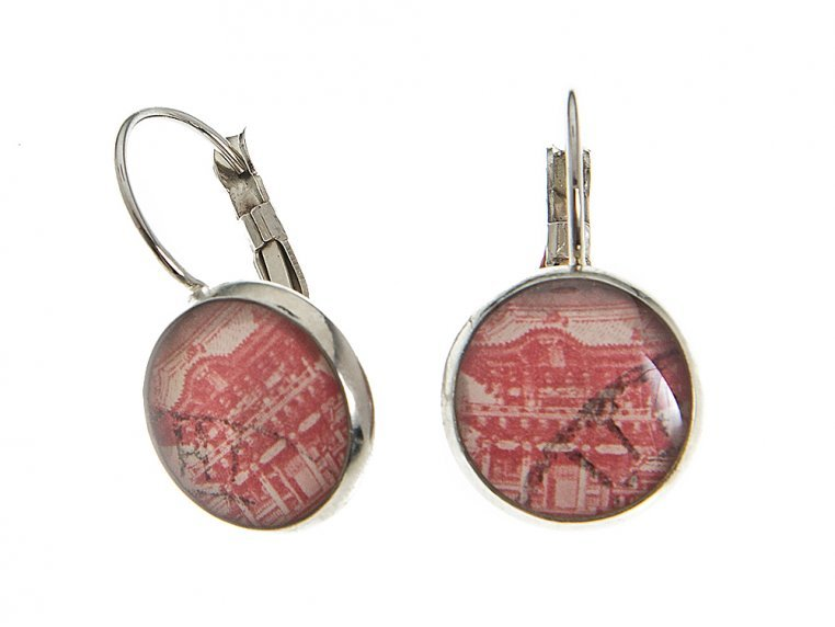 Authentic Stamp Earrings by Postali - 5