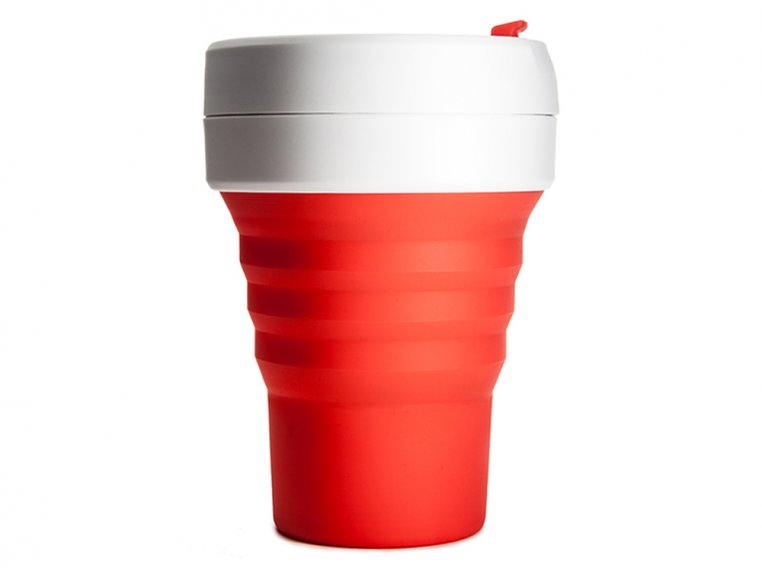 Collapsible Travel Cup by Stojo - 12