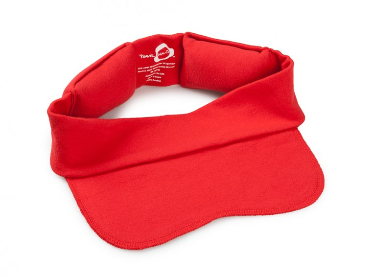 Compact Travel Pillow & Mask by The Travel Halo - 6