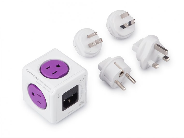 Single Outlet Travel Adapter by PowerCube - 5