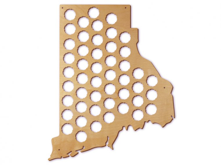 Choose Your State Beer Cap Trap by Torched Products - 44