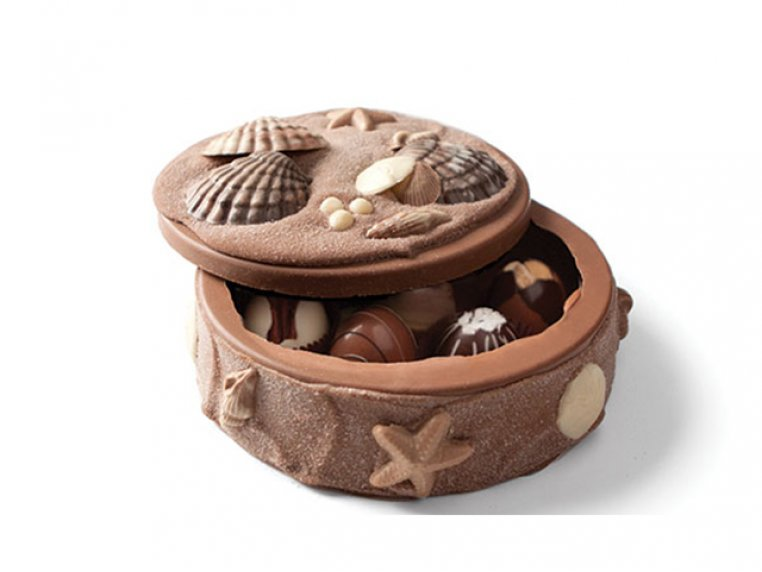 Chocolate Art Box (Truffle-Filled) by DeBrand Chocolates - 7