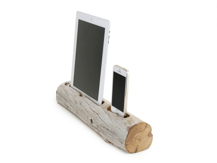 Driftwood Phone and Tablet Dock by Docksmith - 3