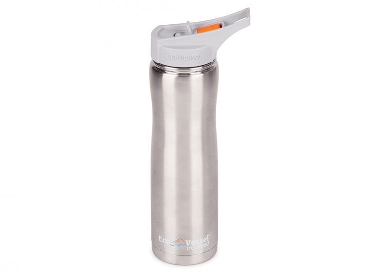 Triple Insulated Stainless Steel Water Bottle by Eco Vessel - 6