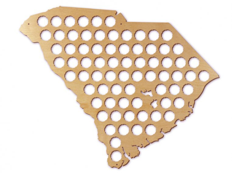 Choose Your State Beer Cap Trap by Torched Products - 45