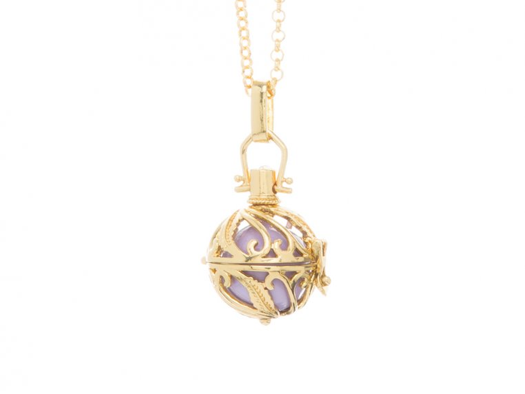 Spiral Design Angel Locket by Yourself Expression - 14