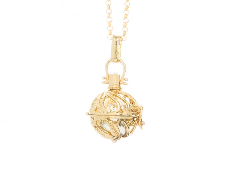 Spiral Design Angel Locket by Yourself Expression - 4