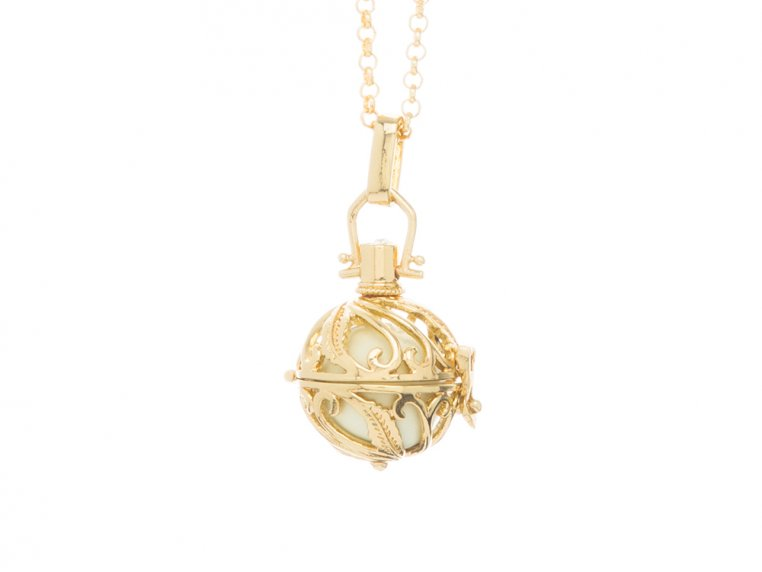 Spiral Design Angel Locket by Yourself Expression - 8