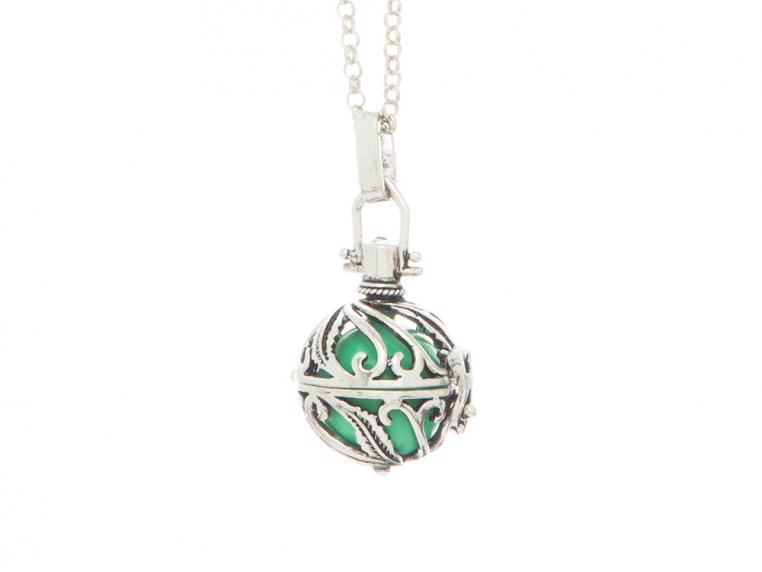 Spiral Design Angel Locket by Yourself Expression - 13