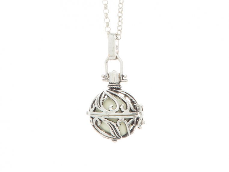Spiral Design Angel Locket by Yourself Expression - 9