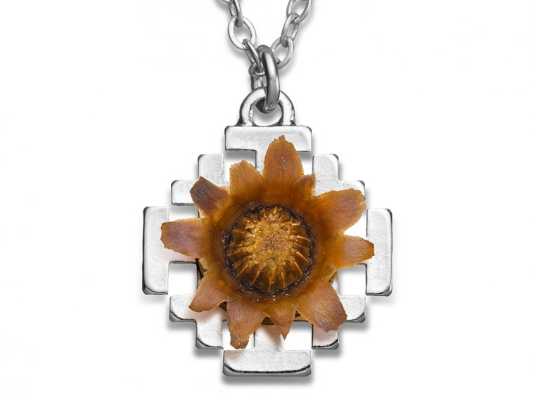 Reblooming Flower Necklace by The Blessing Flower - 10