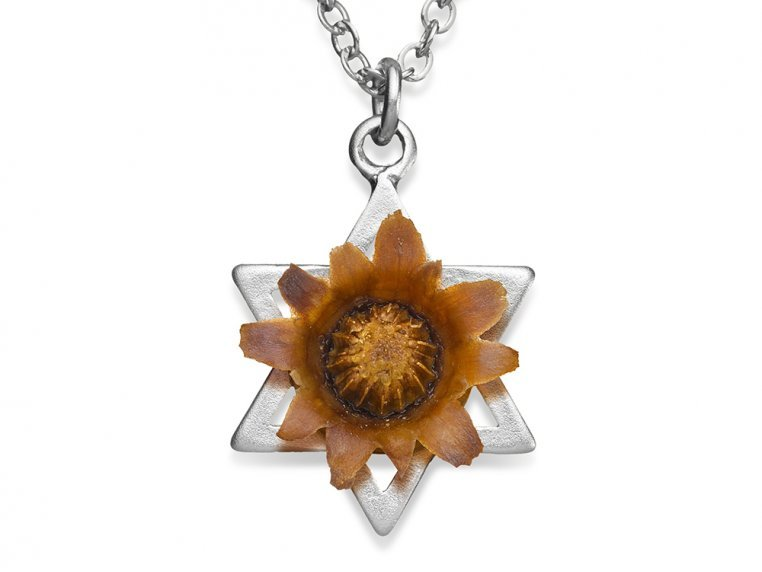 Star of David - Silver Plated by The Blessing Flower - 1