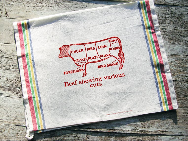 Cotton Tea Towels by Sunday Drive Designs - 2