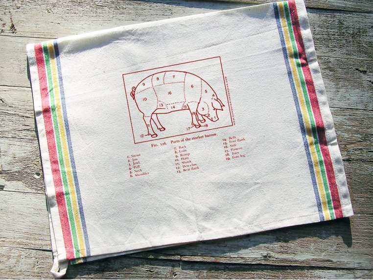 Cotton Tea Towels by Sunday Drive Designs - 3