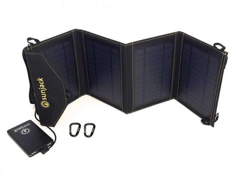 Portable Solar Charger 14W by SunJack - 4