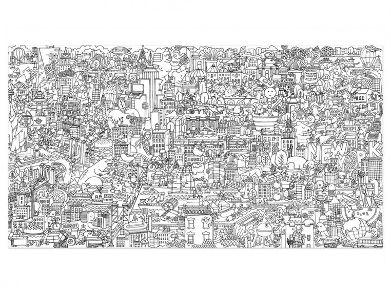 Really Big Coloring Poster by Pirasta - 7